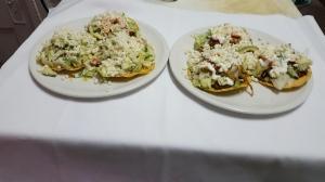 Enchilada Avec Salade