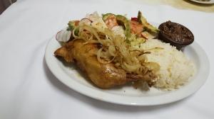 Pierna de pollo